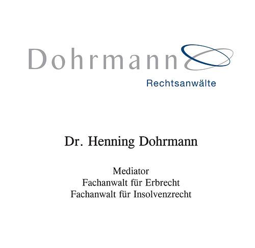 RA Dr. Henning Dohrmann